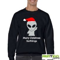 Merry Christmas Earthlings, Sweatshirt